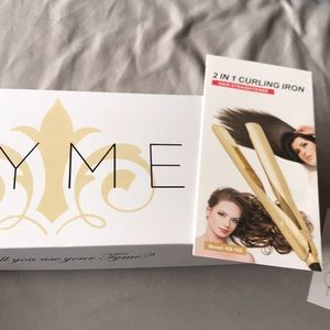 Style Tyme 2 in 1 curling Iron